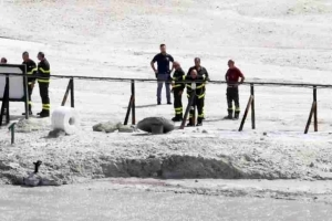 Horror as Family of Three Dies After Falling Into Volcanic Crater (Photos)